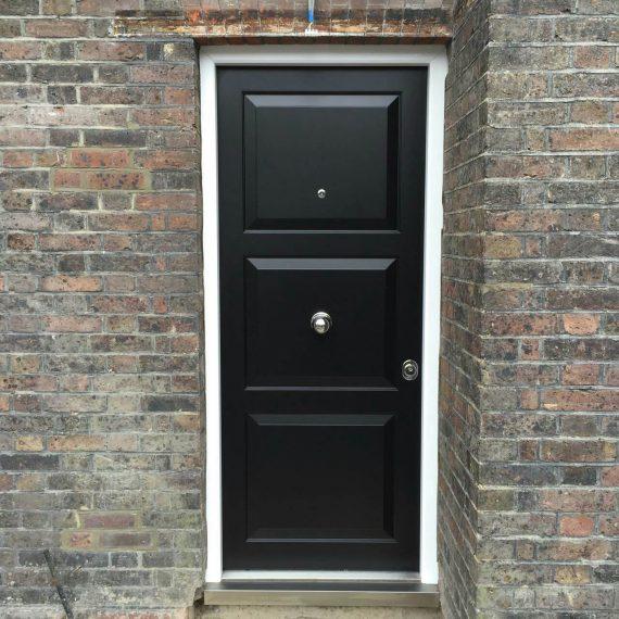 back front door