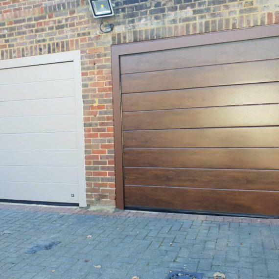 Automatic Security Garage Door - JK Doors